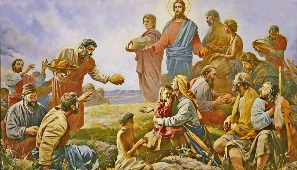 The Miracle of the Five Loaves and Two Fishes